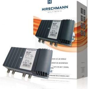 Kaapeliradion ja -television vahvistin 20 db voidaan jatkaa afc 1611- ja afc 1621-jatkeilla