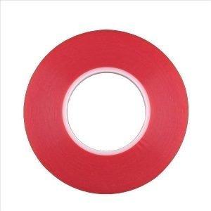Kaksipuolinen vahva teippi mm. näyttöjen kiinnittämiseen (3mm x 30m)