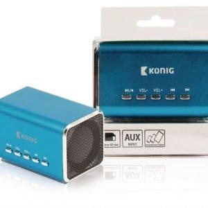 Kannettava MP3-kaiutin sininen