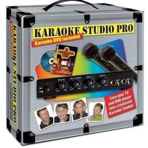 Karaoke Studio Pro karaokelaite kahdella mikrofonilla