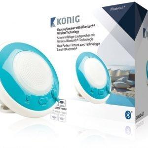 Kelluva Bluetooth-kaiutin vedenkestävä sininen