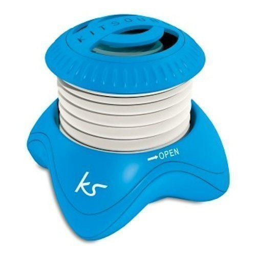 Kitsound Invader Speaker Blue