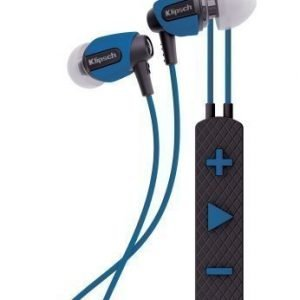 Klipsch S4i Rugged In-Ear Headphones with Mic3 Blue
