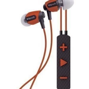 Klipsch S4i Rugged In-Ear Headphones with Mic3 Orange