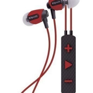 Klipsch S4i Rugged In-Ear Headphones with Mic3 Red