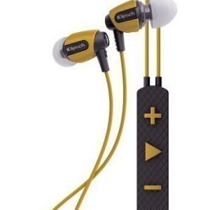 Klipsch S4i Rugged In-Ear Headphones with Mic3 Yellow