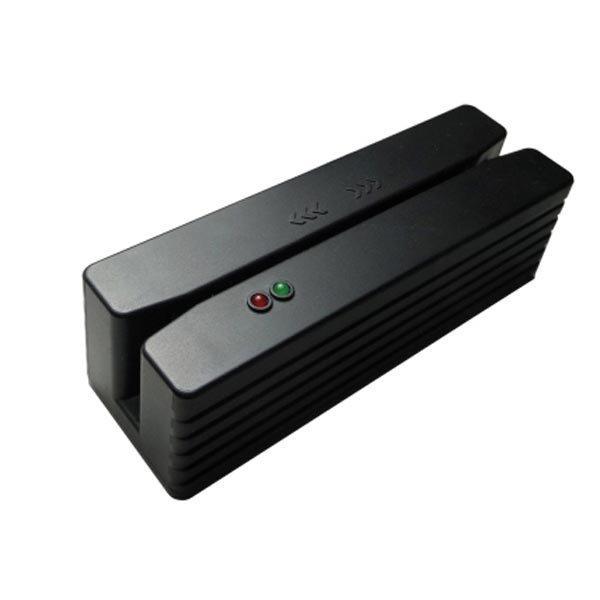 Kompakti magnettikortin lukija USB-käyttöliittymä raide 1+2+3 mu
