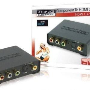 Komponentti - HDMI muunnin