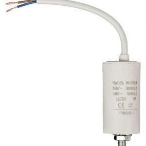 Kondensaattori 10 uf / 450 V + johto