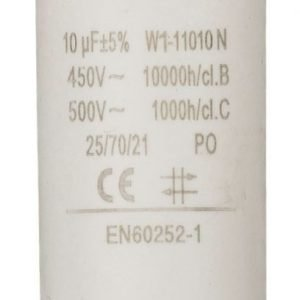 Kondensaattori10.0uf / 450 v + maa
