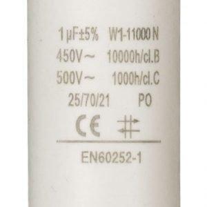 Kondensaattori1.0uf / 450 v + maa