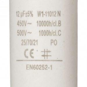 Kondensaattori12.0uf / 450 v + maa