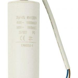 Kondensaattori20.0uf / 450 V + johto