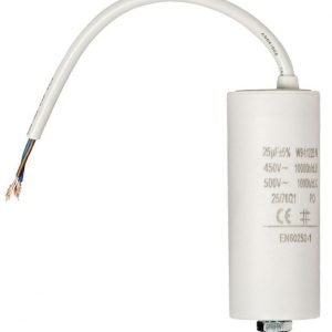 Kondensaattori25.0uf / 450 V + johto