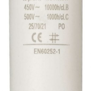 Kondensaattori30.0uf / 450 v + maa