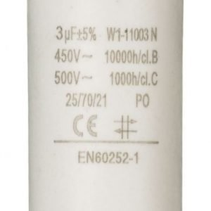 Kondensaattori3.0uf / 450 v + maa