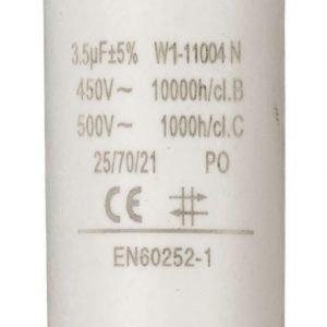 Kondensaattori3.5uf / 450 v + maa