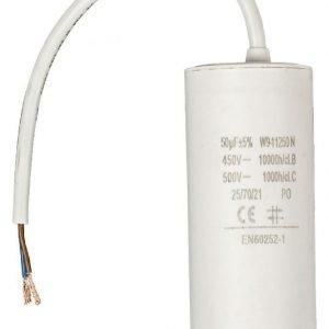 Kondensaattori50.0uf / 450 V + johto
