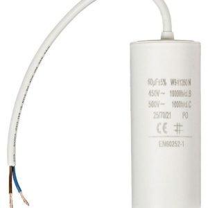 Kondensaattori60.0uf / 450 V + johto