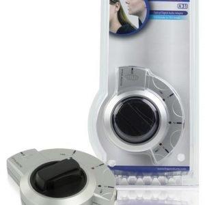 Korkealaatuinen hopea Optinen 3 väylä kytkin