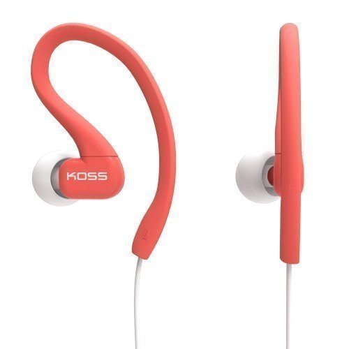 Koss Fit Clips In-ear Coral