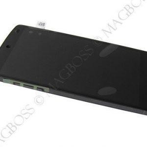 LCD-näyttö + kosketuspaneeli LG Nexus 5 - Musta