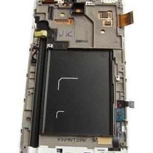 LCD-näyttö + kosketuspaneeli Samsung Galaxy Note 1 N7000 - Valkoinen