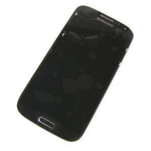 LCD-näyttö + kosketuspaneeli Samsung Galaxy S4 LTE Gt-I9505 - Musta