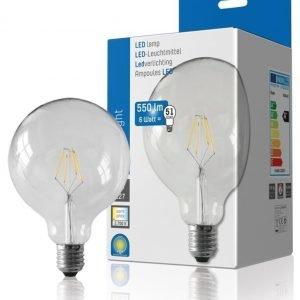LED Filament G125 550Lm