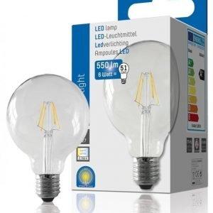 LED Filament G95 550Lm