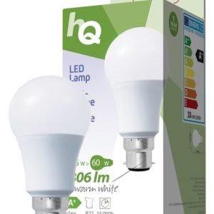LED-lamppu A60 B22 9 5 W 806 lm 2700K