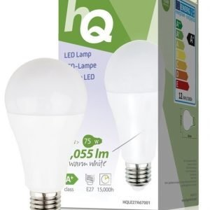 LED-lamppu A67 E27 12 W 1 055 lm 2700K
