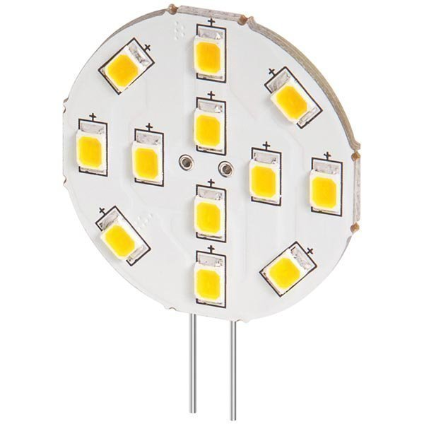 LED-lamppu G4 lämp.valk.valo 2W 10-15V DC 170Lm 2800K IP20