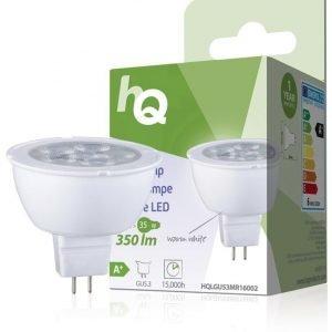 LED-lamppu MR16 GU5.3 5 5 W 350 lm 2700K