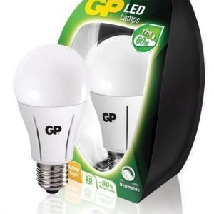 LED-lamppu klassinen A60 himmennettävä E27 12 W