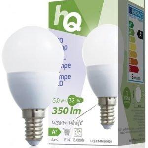 LED-lamppu minipallo E14 5 W 350 lm 2700K