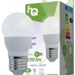 LED-lamppu minipallo E27 3 5 W 250 lm 2700K