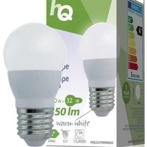 LED-lamppu minipallo E27 5 W 350 lm 2700K