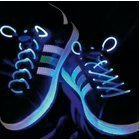 LED shoe laces blue