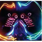 LED shoe laces pink