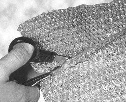 Leikattava metallisuodatin