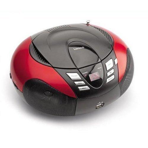 Lenco SCD37USBR Red