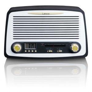 Lenco Sr-02gy Retro Radio Herätystoiminnolla