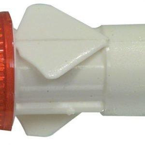 Linssi punainen 12mm