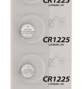 Litium-nappiparisto CR1225 3 V 5 kpl läpipainopakkaus
