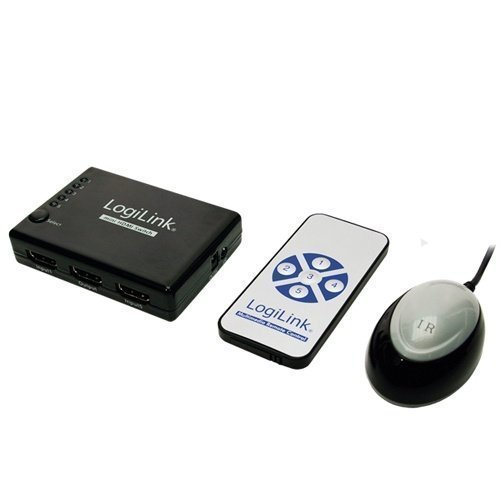 LogiLink HDMI Autoswitch 5in-1out 1080p