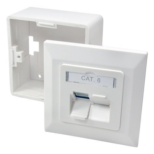 LogiLink Network Outlet 2xRJ45 CAT6