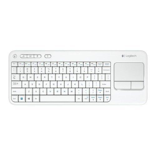 Logitech Wireless Touch Keyboard K400 White