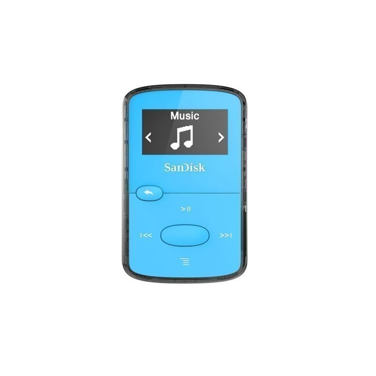 MP3 Soitin SanDisk 8GB Clip Jam blue