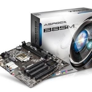 Mainboard-Socket-1150 ASRock B85M Intel B85 2xDDR3 CrossFireX Socket 1150 mATX